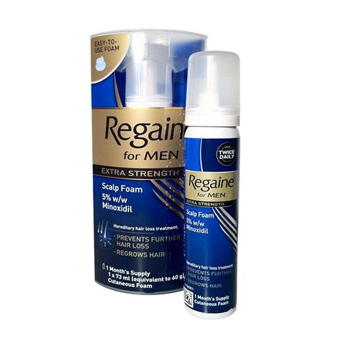 REGAINE EXTRA STRENGTH 5% CUTANEOUS FOAM (60G)