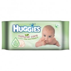 Huggies Baby Wipes Natural Care