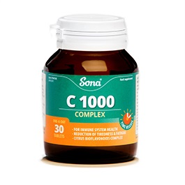 SONA C1000 COMPLEX TABLETS (30)