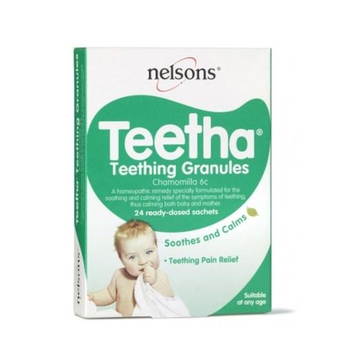 NELSONS TEETHA TEETHING GRANULES (24)