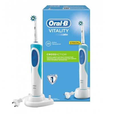 ORAL B VITALITY CROSSACTION ELECTRIC TOOTHBRUSH (1)