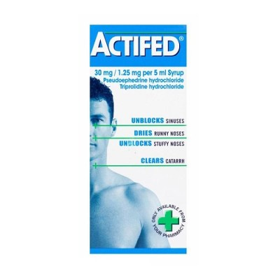 ACTIFED SYRUP (100ML)