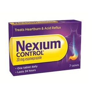 NEXIUM CONTROL 20MG TABLETS ESOMEPRAZOLE (7)