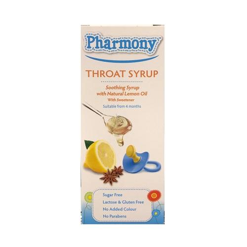 PHARMONY THROAT SYRUP (100ML)