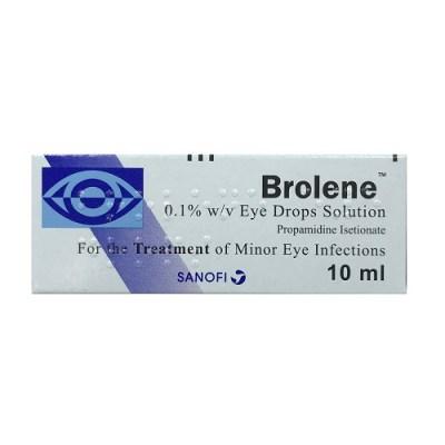 BROLENE 0.1% EYE DROPS (10ML)