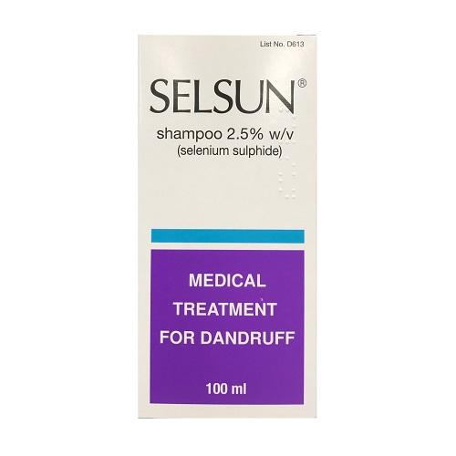SELSUN DANDRUFF SHAMPOO 2.5% SELENIUM (100ML)