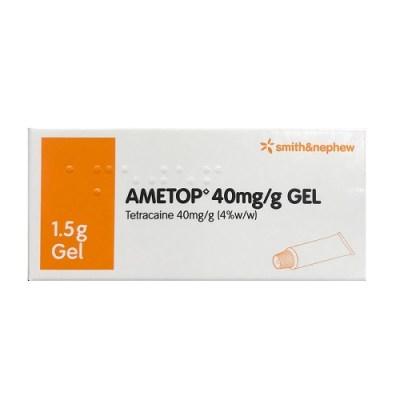 AMETOP GEL 40MG/G TETRACAINE (1.5G)
