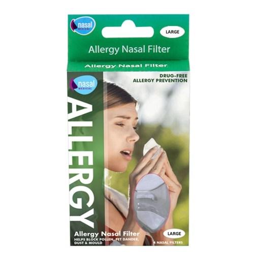 NASAL MEDICAL ALLERGY NASAL FILTERS (4)