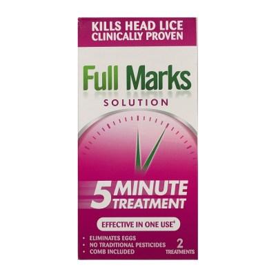 FULL MARKS SOLUTION 2 TREATMENTS (100ML)