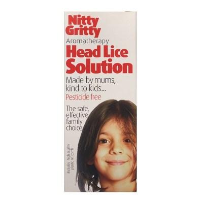 NITTY GRITTY HEAD LICE SOLUTION (150ML)