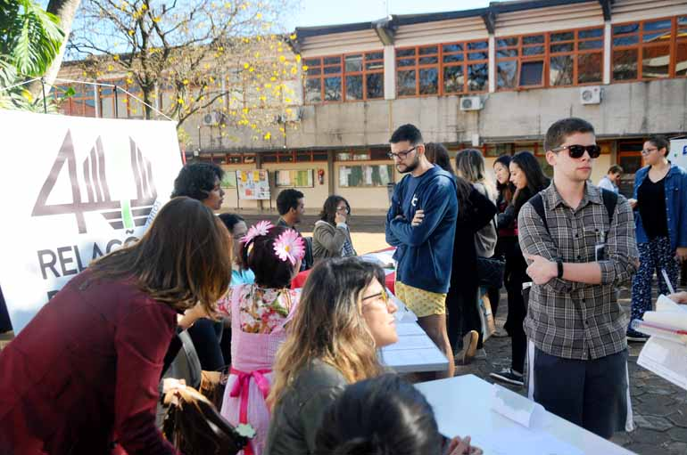 Fotos: Anderson Coelho - A feira foi idealizada pelos alunos de relações públicas, que convidaram sete entidades