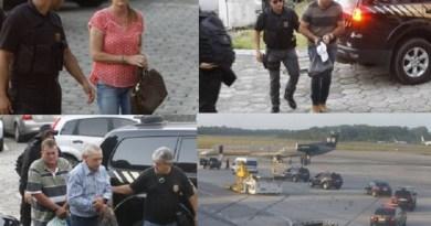 Presos na Operação Castanheira são  Liberados pela Justiça (Foto-Divulgação PF)