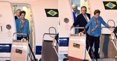 Dilma chega à Austrália; presidente participa de reunião da cúpula do G20