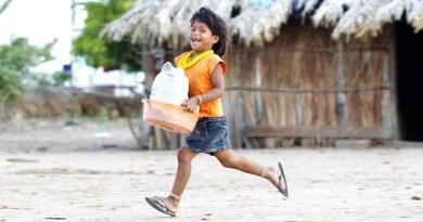 Menino em uma aldeia xavante no Leste do Mato Grosso: descoberta de ancestral com ligações genéticas com populações da Oceania surpreendeu cientistas Foto: Fabio Rossi / Fabio Rossi