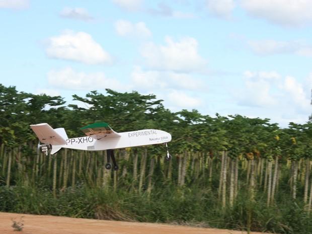 Drone Nauru (Foto: Divulgação/ICMBio)