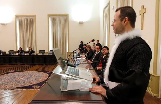 O juiz substituto Roberto Rodrigues Brito Jr., que responde pelo Fórum da Comarca de Novo Progresso (Foto TJPA)