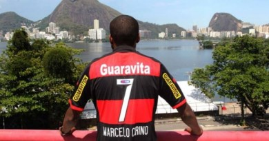 Marcelo Cirino foi a grande contratação do Flamengo na temporada ao lado de Guerrero
