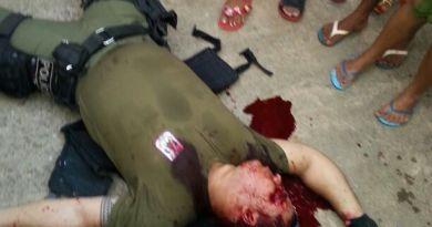 Soldado Lacerda. Reprodução/Facebook