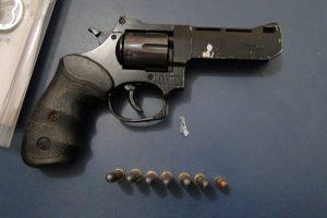 Arma usada para assaltar.