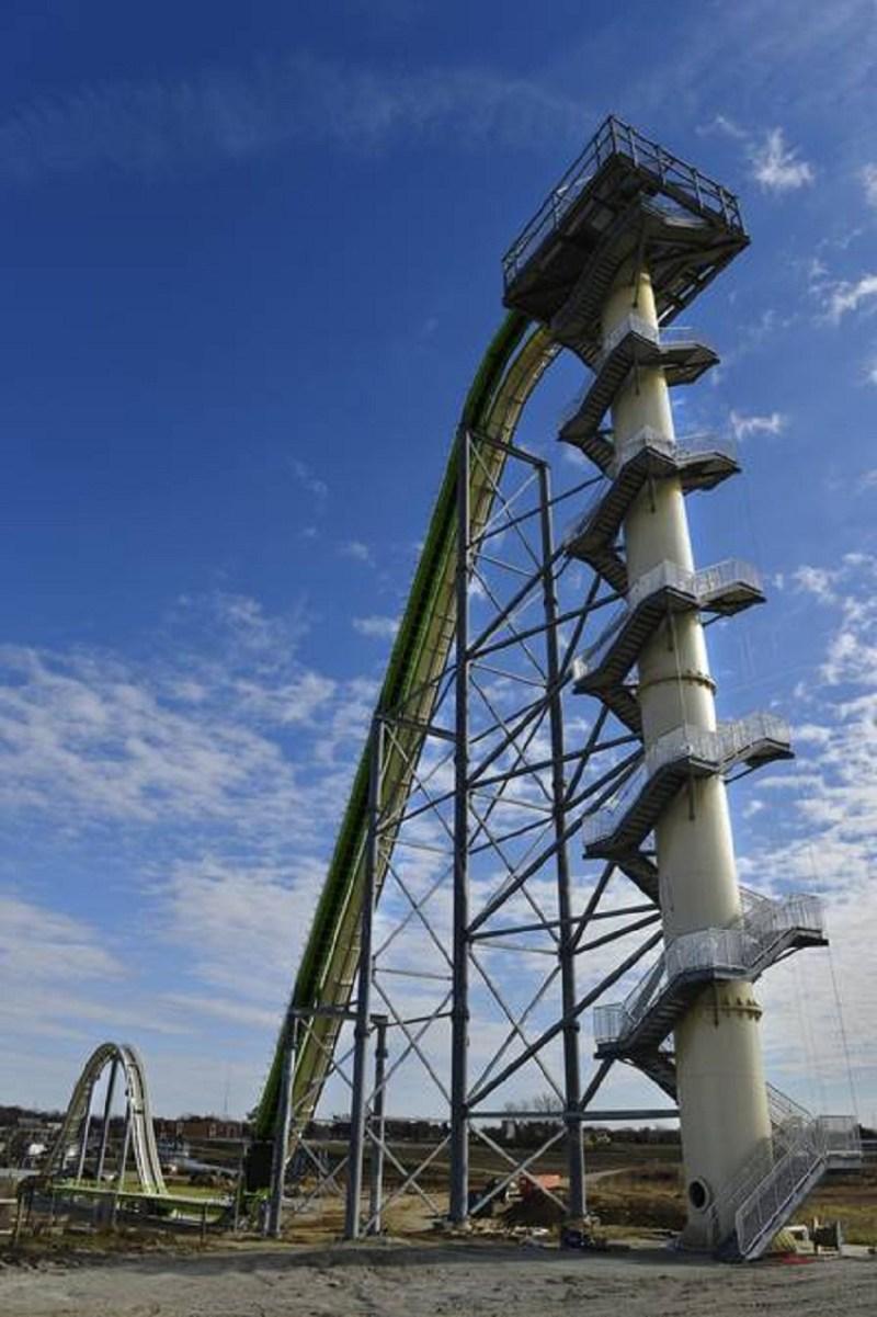 O Verrückt é o maior toboágua do mundo