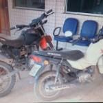 Motocicletas roubadas.