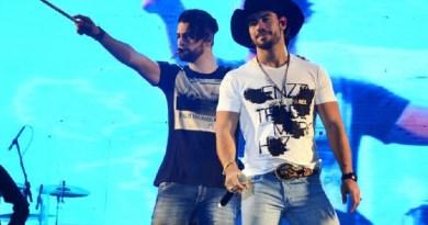 Cantor Mariano, da dupla Munhoz e Mariano, sofreu acidente em treino para prova do 'Saltibum' (Mauricio Fidalgo/TV Globo)