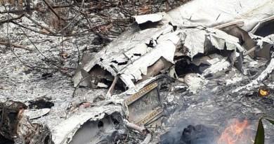 Outro avião partiu de Ourilândia para o local da queda em São Félix para resgatar os corpos (Foto: Wesley Costa) Investigação