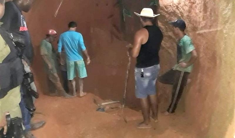 Um trabalhador continua desaparecido. (Foto: Plantão 24 horas news)