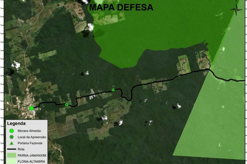 mapa defeza