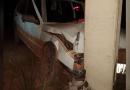 Passageiro morre após carro bater em poste em Rurópolis; duas pessoas foram levadas para o hospital