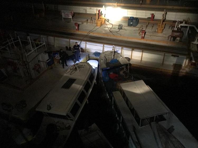 Operação 'Anfíbio' desarticulou quadrilha que furtava combustível em Santarém — Foto: Polícia Civil de Santarém/Divulgação