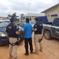 Em Novo Progresso, PRF prende homicída foragido da Justiça