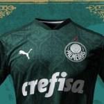 Camisa do Palmeiras é eleita a mais bonita da fornecedora no mundo todo
