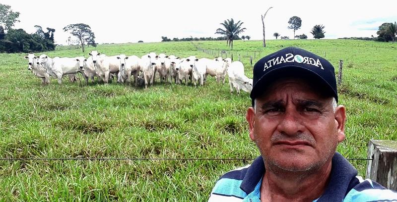 Mansuete Siqueira recebeu de forma positiva as ações do Banco da Amazônia que pode ajudar os colegas produtores |Arquivo Pessoal