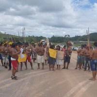 Sem acordo com governo sobre programa ambiental, indíos prometem bloquear BR-163 em Novo Progresso