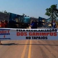 Garimpeiros ameaçam fechar rodovia BR 163