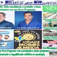 """Edição Nº206  do """"Jornal impresso Folha do Progresso"""" esta circulando"""
