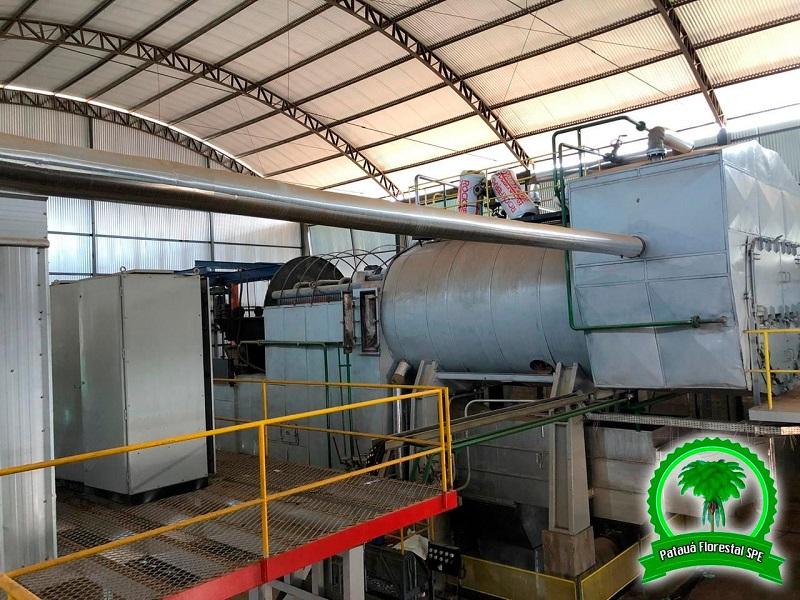 Instalações da Termoelétrica (Moraes Almeida) (Foto:Reprodução)
