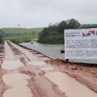 MP abriu inquérito civil público para investigar suposta fraude em licitação para reforma da ponte do rio jamanxim em Novo Progresso