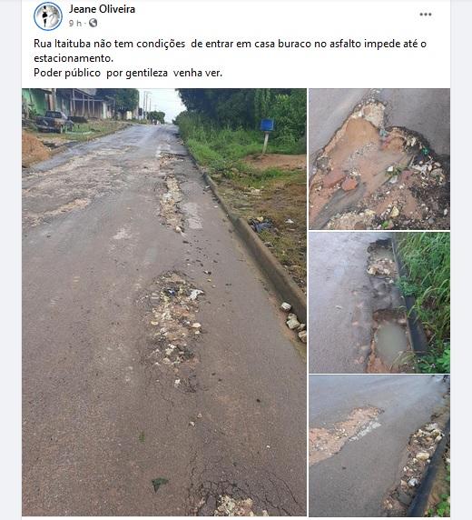 rua itaituba