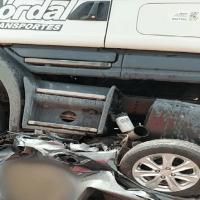 Carro vira 'bola de metal' e cinco pessoas morrem em grave acidente ocorrido na rodovia BR-316, no Pará