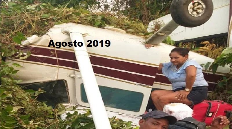 Acidente em 2019 (Foto:Reprodução)