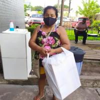 Mulher leva pé do marido em sacola à delegacia em Santarém