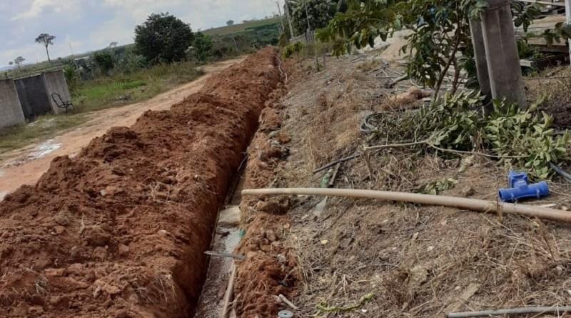 Extensão de rede de água beneficia moradores no distrito do Mil em Novo Progresso