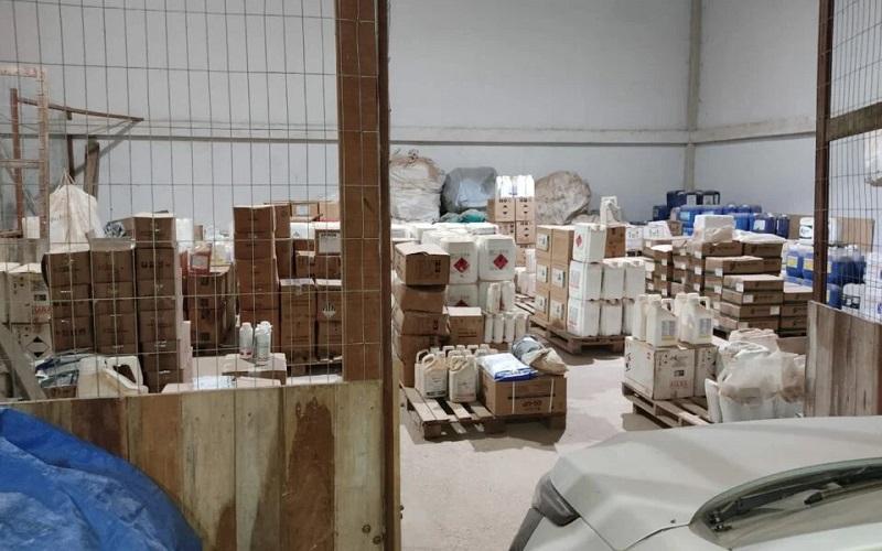  Produtos apreendidos (Foto: divulgação/PC)