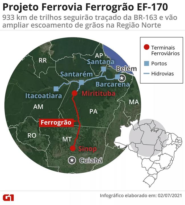 mapa 163