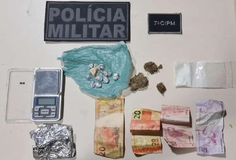 Droga apreendida (Foto:Divulgação)