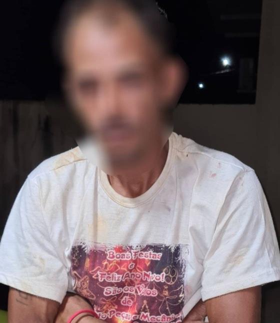 A vítima Vilson d. S. foi salva pelos funcionários do estabelecimento, que o esconderam dentro do banheiro até a chegada dos policiais.(Foto:Divulgação PM)