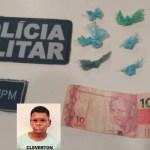 Traficante de Itaituba é preso em flagrante com droga em Novo Progresso
