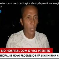 Morador acusa vice-prefeito Marconi de Novo Progresso de obriga-lo apagar vídeo de celular que mostrava descaso com hospital municipal